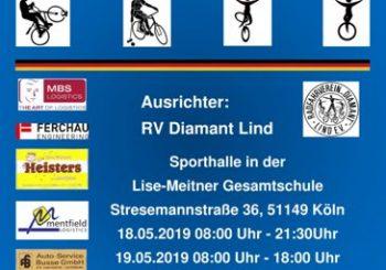 Livestream der Deutschen Hallenradsport Meisterschaft Junioren 2019